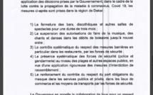 COVID-19/APRÈS LA SORTIE DU MINISTRE DE L'INTÉRIEUR: Le gouverneur de Dakar hausse le ton