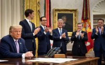 Trump annonce un «accord de paix historique» entre Israël et les Émirats arabes unis