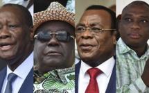 Qui sont les quatre candidats à l'élection présidentielle ivoirienne ?