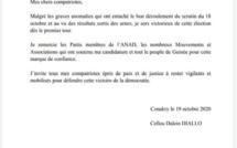 L'opposant guinéen Cellou Dalein Diallo proclame sa victoire à la présidentielle (Document)