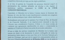 GUINEE: Le ministère de la Justice menace...