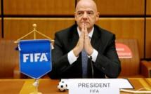 Le président de la Fifa Gianni Infantino positif au Covid