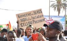 Arrêt sur image- Marche contre le Pr Condé- La démonstration de force des ressortissants Guinéens à Dakar