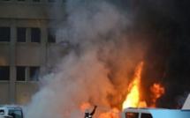 Urgent ! Encore un Incendie à Pikine Technopole (En Direct Sur LERAL TV)