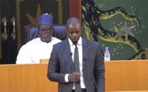 Sonko sur ses absences à l'Assemblée nationale : « J'ai un statut à défendre dans ce pays (...) Je ne peux pas me permettre... »