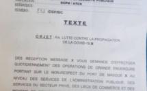 Sénégal: Reprise des contrôles du port du masque en public