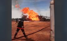 Incendie puits de Gaz: Un gendarme perd la vie!