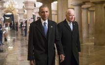 """Etats-Unis : Joe Biden promet une mobilisation comme """"en temps de guerre"""" face au Covid-19"""