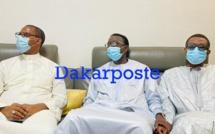 Présentation de condoléances Amadou Ba, Youssou Ndour ...chez Mame Boye Diao