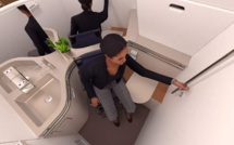 Bientôt disponible : des salles de bain plus grandes pour les... avions