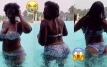 Dans une piscine, l'actrice Marème Dial dévoile ses atouts et régale ses followers (Vidéo)