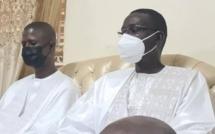 Touba : Antoine Félix Diome reçu par Serigne Mountakha