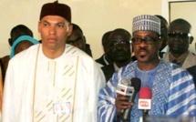 Après la visite de  son père Me Abdoulaye Wade  :  Karim reçoit longuement Me Madické Niang