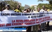 Le CUSEMS en grève vendredi prochain