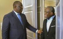 D'anciens Présidents de l'Assemblée Nationale reçus au Palais Présidentiel