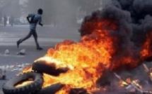Scat Urbam :Des ménagères descendent dans la rue et... brûlent des pneus