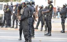 L'impressionnant dispositif sécuritaire maintenu  au tribunal de Dakar