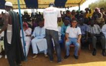 Programme d'Urgence de Développement communautaire (PUDC) le maire de la commune de Ogo Amadou Kane Réception le forage du village de THIAMBE