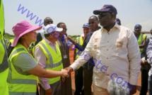 Macky Sall visite les chantiers de Diamniadio