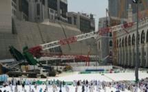Le groupe BinLaden sanctionné par le Roi d'Arabie Saoudite après la chute de la grue