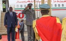 Arrivée de Macky Sall à Ouagadougou