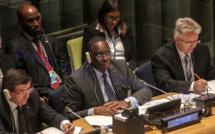 Allocution du Président de la République: Sommet des Nations Unies sur le développement durable