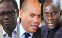 EXCLUSIF DAKARPOSTE!   Malick Gackou et Pape Diop rendent visite à Karim Wade