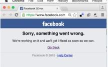 Facebook en panne quelques jours après un incident similaire