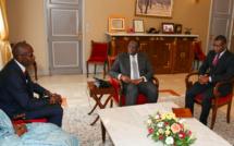 Le Pr Macky Sall a recu hier Amadou Hott et des investisseurs pour...