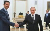 A Moscou, el-Assad remercie Poutine pour son «aide» en Syrie